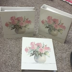 Group of 3 picture albums
